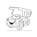 How to Draw Rubble from Bob the Builder