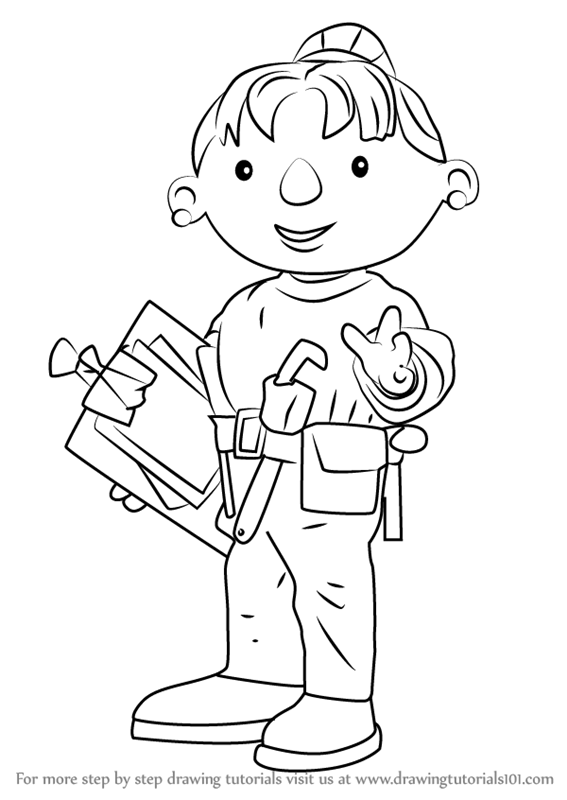 Learn How to Draw Wendy from Bob the Builder (Bob the ...