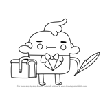 How to Draw Concierge from Bravest Warriors