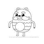 How to Draw Impossibear from Bravest Warriors