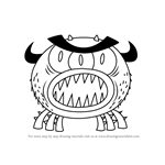 How to Draw Cave Monsters from Breadwinners