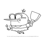 How to Draw Tooth Fairy from Breadwinners
