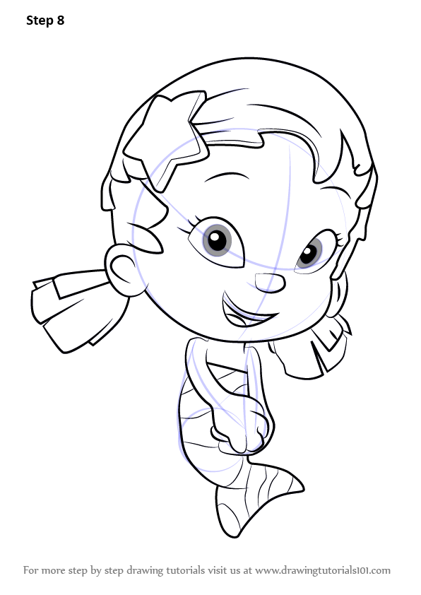 Learn How to Draw Oona from Bubble Guppies (Bubble Guppies ...