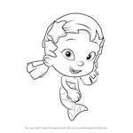 How to Draw Oona from Bubble Guppies