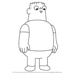 How to Draw Nathan from Clarence