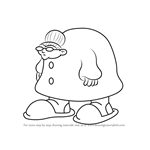 How to Draw Gramma Stuffum from Kids Next Door