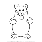 How to Draw Hamsters from Kids Next Door