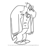 How to Draw Igor from Count Duckula