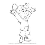 How to Draw Allie from Curious George
