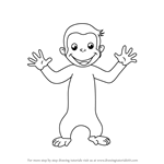 How to Draw Curious George for Kids