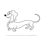 How to Draw Hundley from Curious George