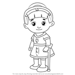 How to Draw Chrissie from Daniel Tiger's Neighborhood