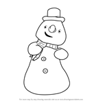 How to Draw Chilly McStuffins from Doc McStuffins