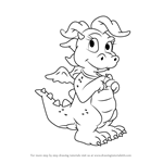 How to Draw Cassie from Dragon Tales