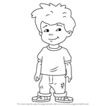 How to Draw Max from Dragon Tales