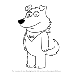 How to Draw New Brian from Family Guy