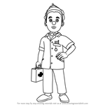 How to Draw Helen Flood from Fireman Sam