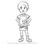 How to Draw Mandy Flood from Fireman Sam