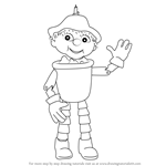 How to Draw Bill from Flower Pot Men
