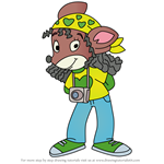 How to Draw Bugsy Wugsy from Geronimo Stilton