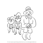 How to Draw Corduroy brothers from Gravity Falls