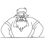 How to Draw Ghost-Eyes from Gravity Falls