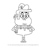 How to Draw Mimey from Grojband