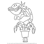 How to Draw Planty from Grojband