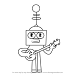 How to Draw Randy Red from Grojband