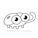 How to Draw Bugs from Harvey Beaks