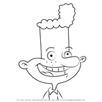 How to Draw Eugene Horowitz from Hey Arnold!