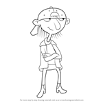 How to Draw Sid from Hey Arnold!