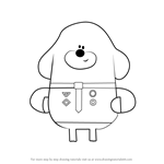 How to Draw Duggee from Hey Duggee