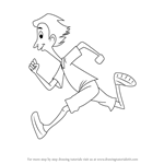 How to Draw Aerobic Al from Horrid Henry
