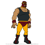 How to Draw El Toro Fuerte from Jackie Chan Adventures