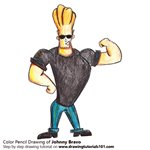 How to Draw Johnny Bravo