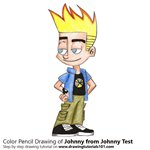 How to Draw Johnny from Johnny Test