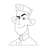 How to Draw James Possible from Kim Possible