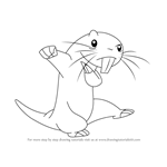 How to Draw Rufus from Kim Possible