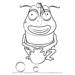 How to Draw Brown from Larva