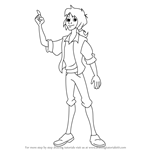 How to Draw Henri from Liberty's Kids
