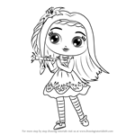 How to Draw Posie from Little Charmers