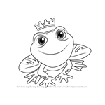 How to Draw Prince Ferg from Little Charmers