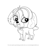 How to Draw Digby from Littlest Pet Shop