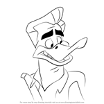 How to Draw Frank Russo from Looney Tunes