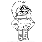 How to Draw Knight Jesse from Looped
