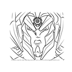 How to Draw Makino from Max Steel