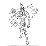 How to Draw Ven-Ghan from Max Steel