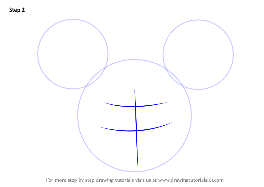 Step by Step How to Draw Toodles from Mickey Mouse ...
