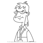 How to Draw Elliot Decker from Milo Murphy's Law